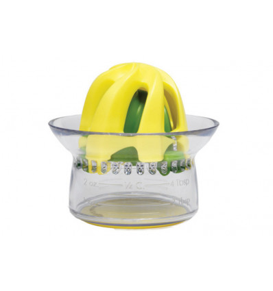 CITRUSPERS 2IN1 - GEEL CHEF'N - 7.5X9CM