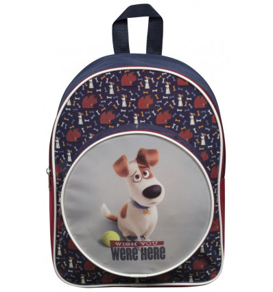 RUGZAK - JUNIOR - BOYS - 31.5x26x10.5cm SECRET LIFE OF PETS