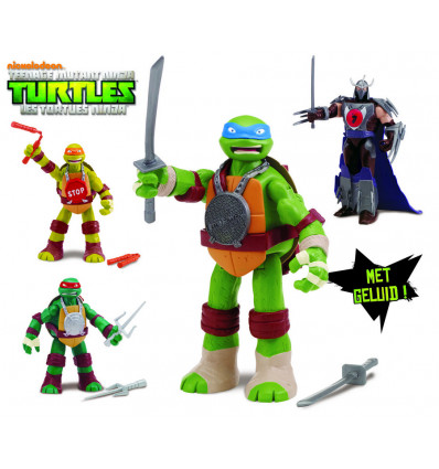 Ninja Turtles Hand to Hand Fighters Figuur 14cm