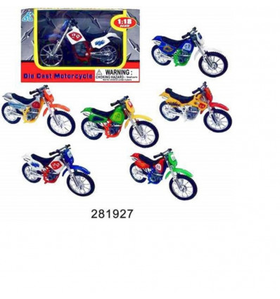 1:18 SUPER CROSS MOTORCYCLES ASS. CROSMOTO'S