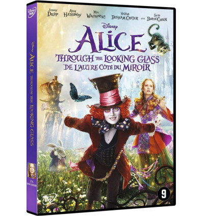 Alice Through The Looking Glass 2016 DVD Live Action - Alice in Wonderland