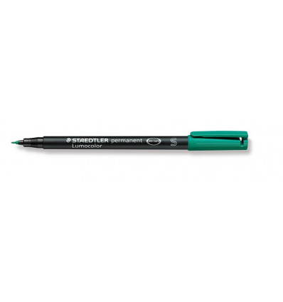 STIFT S PERMANENT 0,4 MM - GROEN LUMOCOLOR