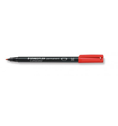 Staedtler Lumocolor Non-Permanent M Rood