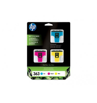 HP 363 Cartridge Inkjet Colorpack - CB333EE - PS8250