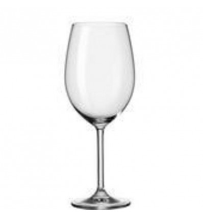 BORDEAUX GLAS 650ML - DAILY 6 STUKS