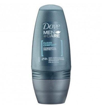 DOVE DEO ROLL ON FOR MEN - 50ML CLEAN COMFORT