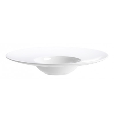 A TABLE GOURMETBORD LARGE WIT - 28 cm - BONE CHINA