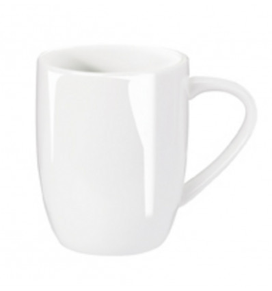 A TABLE MUG WIT - 0.35L - 9X8.5CM - BONE CHINA