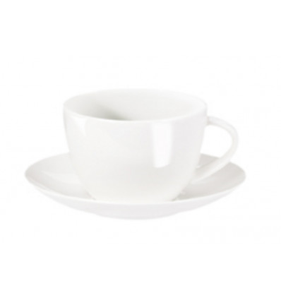 A TABLE KOP & SCHOTEL WIT - 0.2 L - BONE CHINA