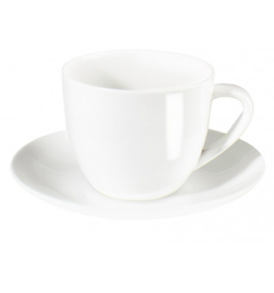 A TABLE ESPRESSO TAS & SCHOTELTJE WIT - 0.07L - BONE CHINA