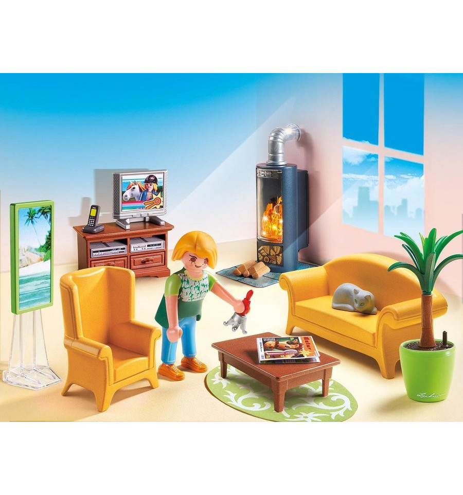 Awesome Playmobil Dollhouse Woonkamer Contemporary - Globexusa.us ...