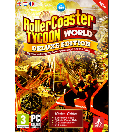 PC Rollercoaster Tycoon World - Deluxe Edition