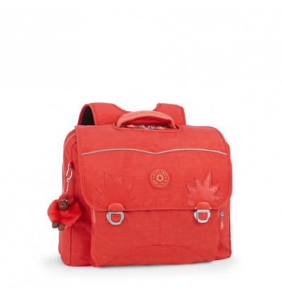 Kipling Iniko Boekentas Happy Red C