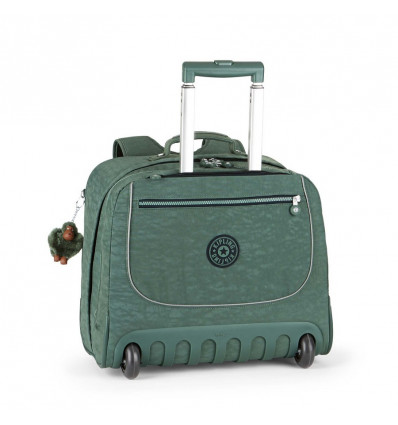 BOEKENTAS TROLLEY - CLAS DALLIN 39.5x42.5x26cm - DARK GREEN - BTS