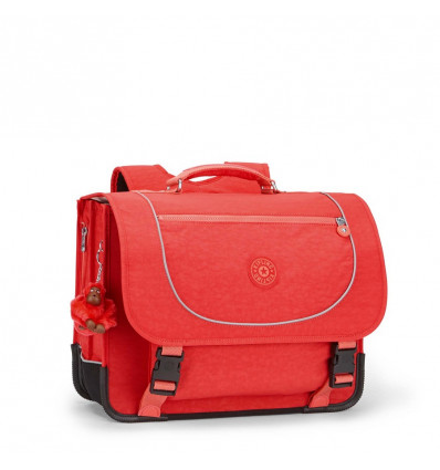 BOEKENTAS - POONA M - 33x41x17.5cm HAPPY RED - BACK TO SCHOOL
