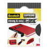 Scotch Supreme Reparatietape Strong&Easy - 38mm x 3m - Zwart