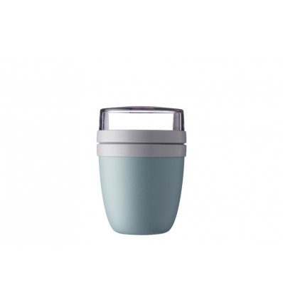 LUNCHPOT ELLIPSE DUO - PP NORDIC GREEN - 107X107X151MM