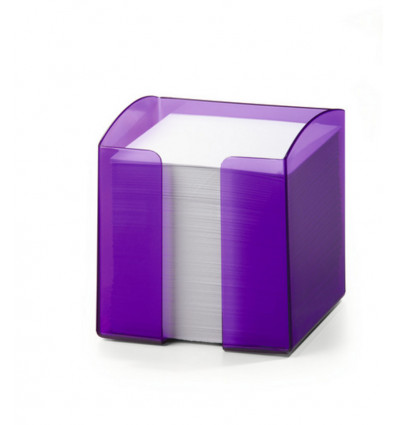 Durable note Box Trend Violet Transparant