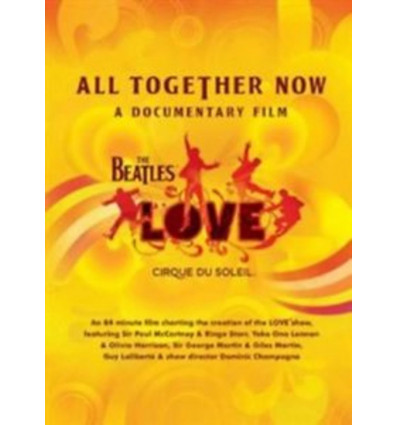 THE BEATLES & CIRQUE DU SOLEIL 1DVD ALL TOGETHER NOW