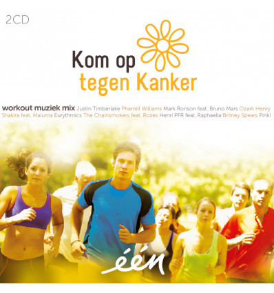 KOM OP TEGEN KANKER 2CD WORKOUT MUSIC MIX