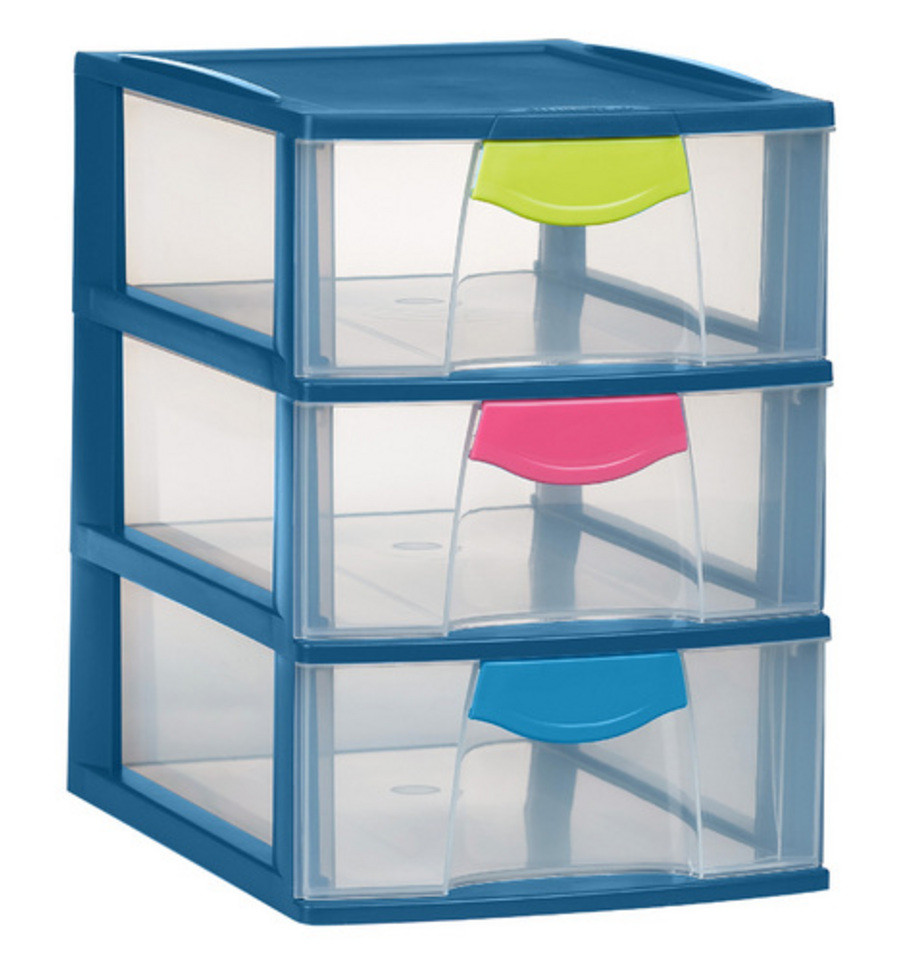Magic case ladenblok 3 big blauw trendy 19x25 for Ladenblok trolley