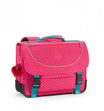 Kipling Preppy Boekentas Pink Summer Pop