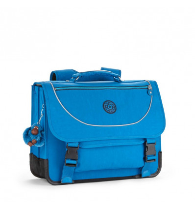 BOEKENTAS - PREPPY - 33x41x17.5cm - 15L KIPLING - BLUE GREEN MIX