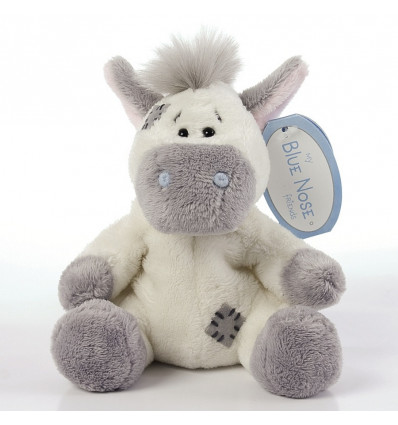 PLUCHE 10cm - PAARD MY BLUE NOSE FRIENDS