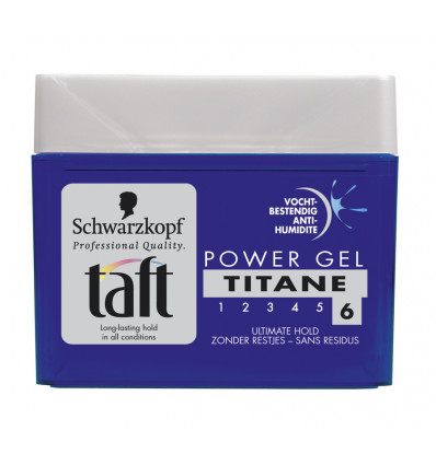 haargel power titane taft 300ml supra bazar u