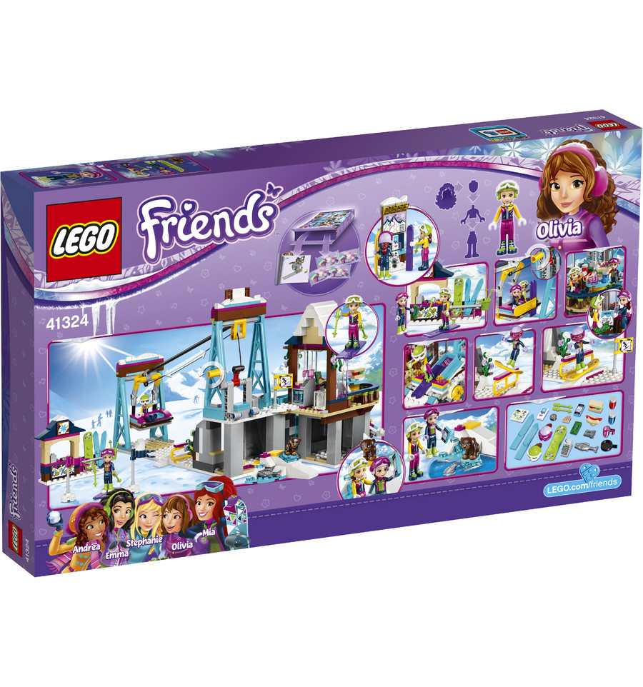 lego friends 41324 wintersport skilift supra bazar u