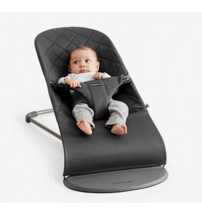 BabyBjorn Relax Bliss Cotton - Antraciet