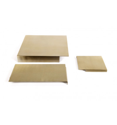 DIENBLAD RAS - SET V/3 XL - 12.5x12/23.5x12.5/24.5x24cm - BRASS