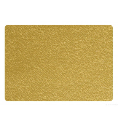 PLACEMAT - 43x33cm - LEATHER OPTIC ASA - GOUD