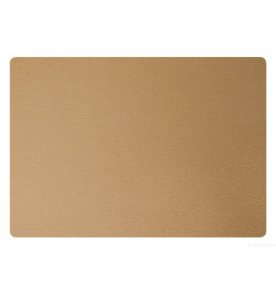 PLACEMAT - 46x33cm - LEATHER OPTIC ASA - BRASS