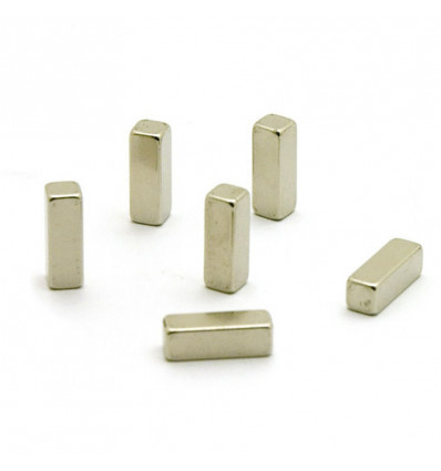 MAGNETEN MAGIC - STICK - 6 STUKS TRENDFORM - ZILVER
