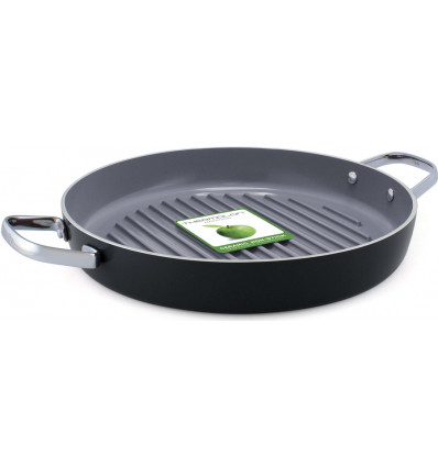Greenpan Grillpan Essentials 28cm alle Vuren - Ovenbestendig