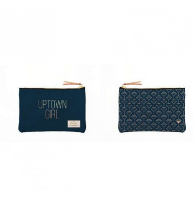 POUCH/MAKE UP TAS - 23x17cm ROCKET - UPTOWN GIRL