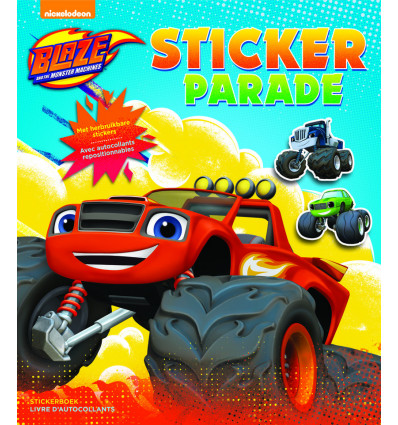 STICKERPARADE BLAZE AND THE MONSTER MACHINES