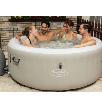 Lay-Z-Spa Tahiti Airjet met LED-light Opblaasbare Bestway jacuzzi