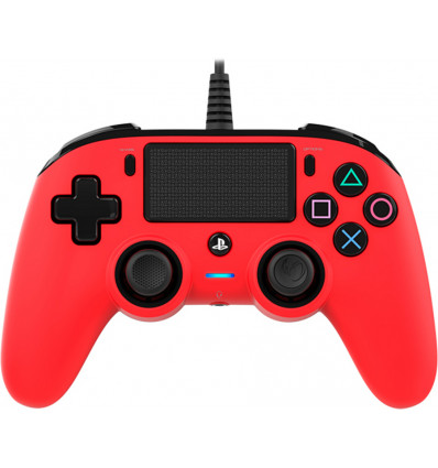 Nacon Wired Compact Controller Red PS4