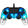 Nacon Wired Illuminated Compact Controller Blue PS4