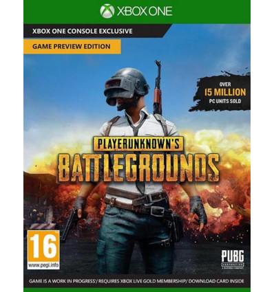 Xbox One Playerunknown's Battlegrounds
