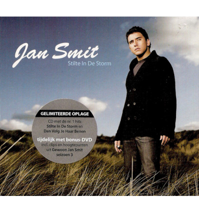 Jan Smit - Stilte in de Storm 1CD+DVD