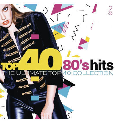 80's Hits 2CD The Ultimate Top40 Collection