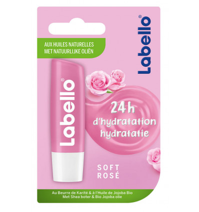 Labello Lipbalsem Rose 4.8gr
