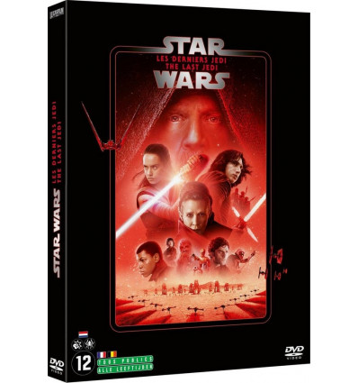 Star Wars 8: The Last Jedi 1DVD