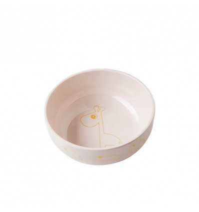 BOWL YUMMY - CONTOUR - GOLD-POWDER DONE BY DEER - 13.5X5CM