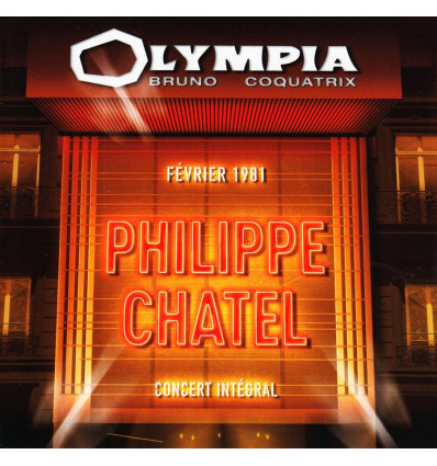 Philippe Chatel 2CD Olympia 1981