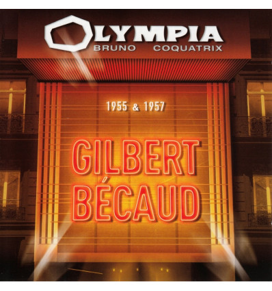 Gilbert Becaud - Olympia 1955 & 1957 2CD