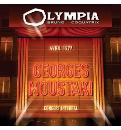 Georges Moustaki 2CD Olympia 1977